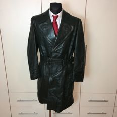 Vintage - Long Leather Coat