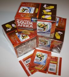 Panini - World Cup South Africa 2010 - 3 original unopened boxes + 3 extra loose packets - Factory seal