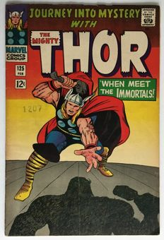 Marvel Comics - Journey Into Mystery / Thor #125 - 1x sc - (1965)