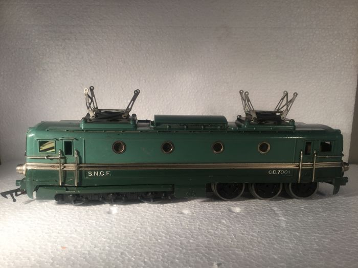 Scale 0 - JEP - Electric locomotive Type CC7001 of the SNCF