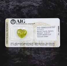 Sphene – 9.24 ct