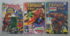Marvel Comics - Fantastic Four - Issues 60, 63 and 68 - X3 SC - (1967)