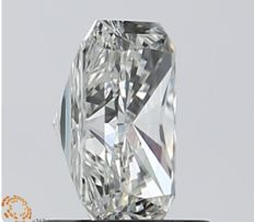 1.01 ct J VVS2 Radiant Cut Diamond  Low Reserve Price  #987