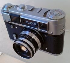 Fed 4 L camera with Industar lens 2.8 55