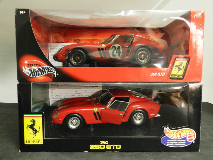 Hot Wheels Scale 1 18 Ferrari 250 Gto Raced Dirty Catawiki