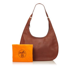 Hermes - Leather Gao Shoulder Bag