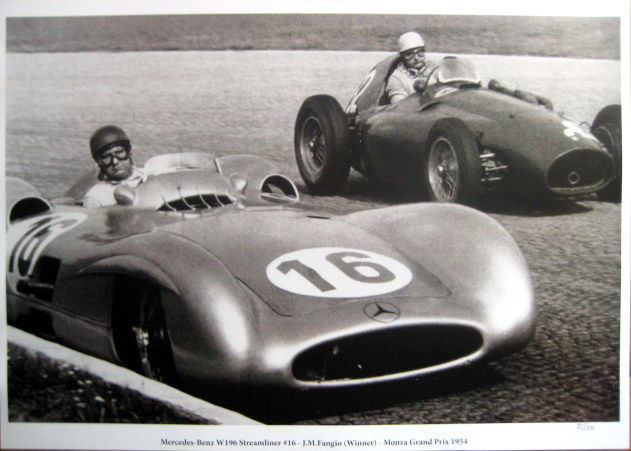 Decoratief object - Mercedes-Benz W196 #16 - Juan Manuel Fangio  - 1954 (1 items)
