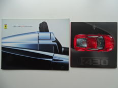 2000 - 2004 - Ferrari 360 Spider & F430 Coupé - Mixed lot of 2 original sales brochures