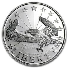 United States - 1 OZ Liberty Eagle - Beautiful Coin!