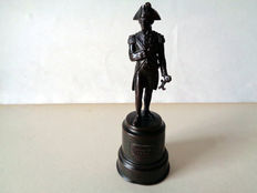 Reid & Sons commemorative bronze of Lord Horatio Nelson & the Battle of Trafalgar 1805 - England - 19th century