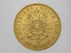 Prussia - 10 Marks 1888 - gold