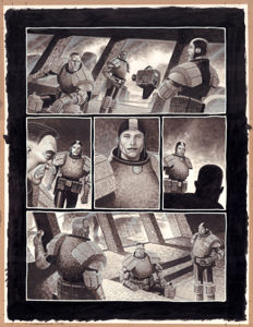 MacNeil, Colin - Original page (p.2) - Judge Dredd Insurrection #1 - (2009)