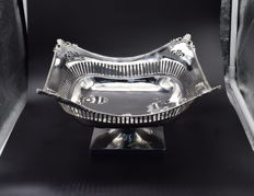 Sterling silver fruit bowl , International hallmarked 925