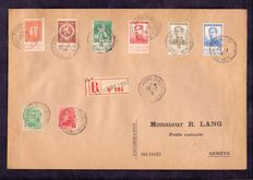 Belgium 1915/1958 - Postal used letter sent in March 1915 and cancelled on the back at Expo 58