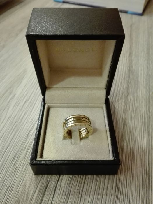 Bulgari BZero1 - 18 kt yellow gold Bulgari ring Size 53 - Catawiki 9fb681800f3