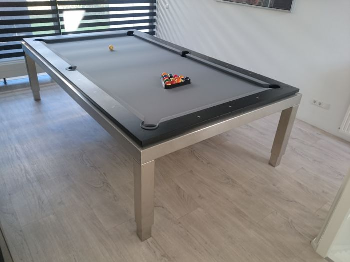 Ordinaire Bilhares Carrinho   Professional Design Pool/dinner Table With Lifting  System, Model U0027 New