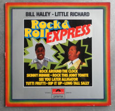 Only For Collectors 7 Mega Rare and Unique Albums  - Rock & Roll Express - Bill Haley Meets Little Richard