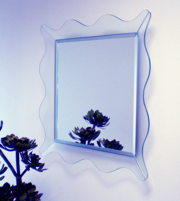 Dorina Camusso for Tonelli - 'Mirabeau' wall mirror