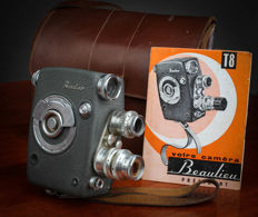 Superb BEAULIEU Camera T8 Président with leather case and instructions manual