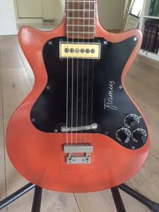 Something special! A VINTAGE Framus Hollywood doublecut Model 5/129, early 1960s, Germany, with 1 pickup