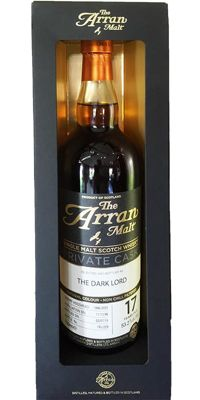 Arran 1996 Private Cask - The Dark Lord - 17 years old