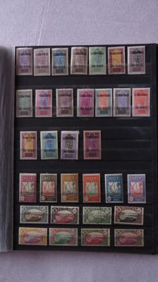 Former French colonies 1892/1954 - collection of stamps