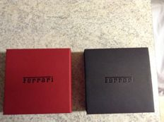 FERRARI coin-medal 70H Anniversary with box and certificate of originality Editalia