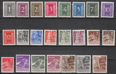Indonesia 1950/1951 - Overprint 'RIS' - NVPH 3/25