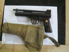 Webley  Mark I Air Gun, Rare! with safety catch, with Holster
