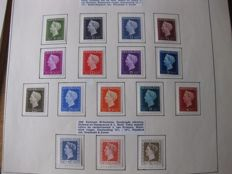 The Netherlands 1872/1988 - extensive collection on 133 Kabe album sheets