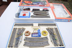 Märklin H0 - 0975/5191 - Starter-set with M-rail expansion set and additional material