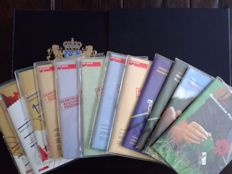 The Netherlands 1970/2001 - Collection in DAVO LX album and year packs