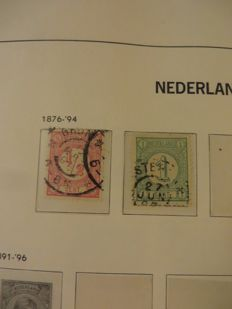 The Netherlands - Batch in six albums/stock books