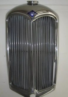 Model Riley around 1946 - an original radiator grill from a UK classic car