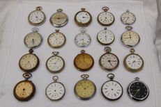20 antique/ vintage pocket watches