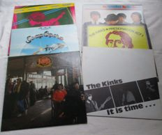 A lot of 5 lp's and 1 double album from the Kinks