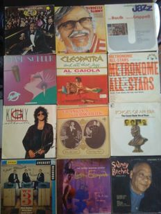 Mixed lot of 14 vintage American Jazz LP's vinyl records