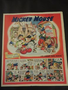 Mickey Mouse Magazine - 16 issues - sc - 1st edition (1949/1950)