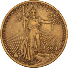 United States - 20 dollars 1911 'Saint Gaudens' - gold