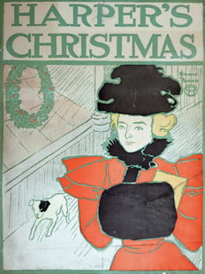 Edward Penfield  - Harper's  Christmas - 1896