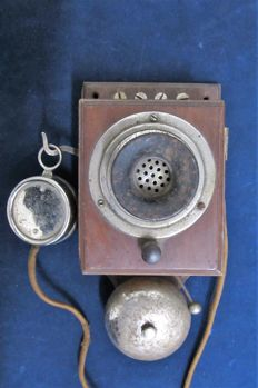 Antique wall telephone - 1920-1930