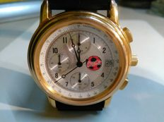 Watch with COCA COLA logo. Multifunctional. Chronograph. Made in Japan.Limited edition. Little used.