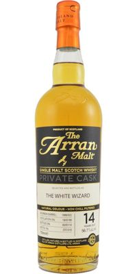 Arran 1999 Private Cask - The white wizard - 14 years old
