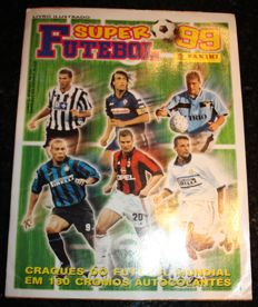 Panini - Super Futebol 99 - Complete album - Brazilian issue