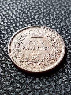 United Kingdom - Shilling 1870 (Die number 11) Victoria - silver