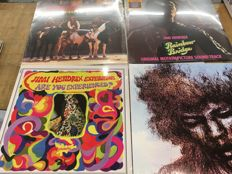 Four Jimi Hendrix albums || Great Quality || audiophile vinyl  || Sealed