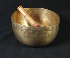 Antique singingbowl - Nepal - early 20th century