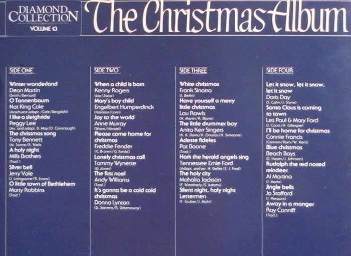 A Christmas Song For You 17 LP's 3 Double Albums & 7 LP's