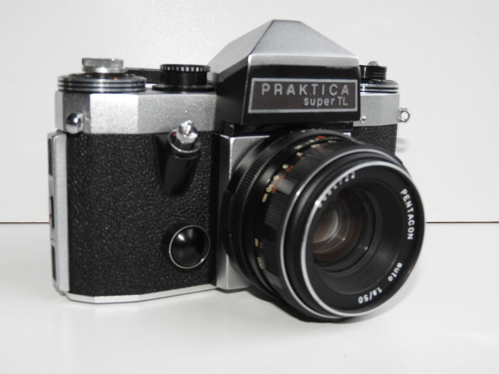 Very neat praktica super tl with pentacon 1.8 50 lens catawiki