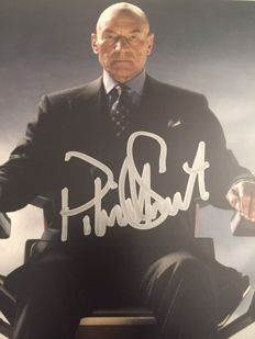 X-Men - Signed autograph - 2009 - Patrick Stewart no reserve price
